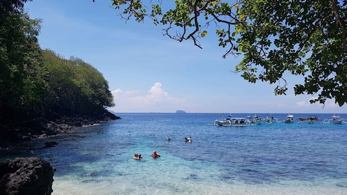 Snorkeling site in Blue Lagoon Beach