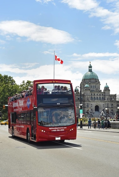 Show item 4 of 10. Hop On Half Day Sightseeing Victoria