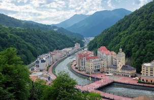 Discover Olympic Sochi and Enjoy Scenic Mountainous Views