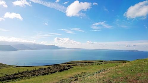 Blue skies in North Wales