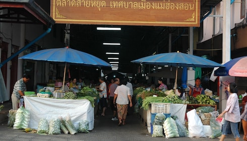 Market in Mae Hong Son