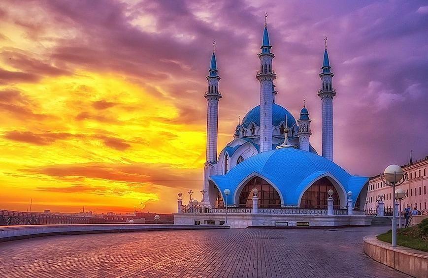 Show item 1 of 6. Kazan at Night: Private Evening City Tour