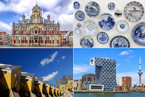 Live guided tour Rotterdam, Delft & The Hague from Amsterdam