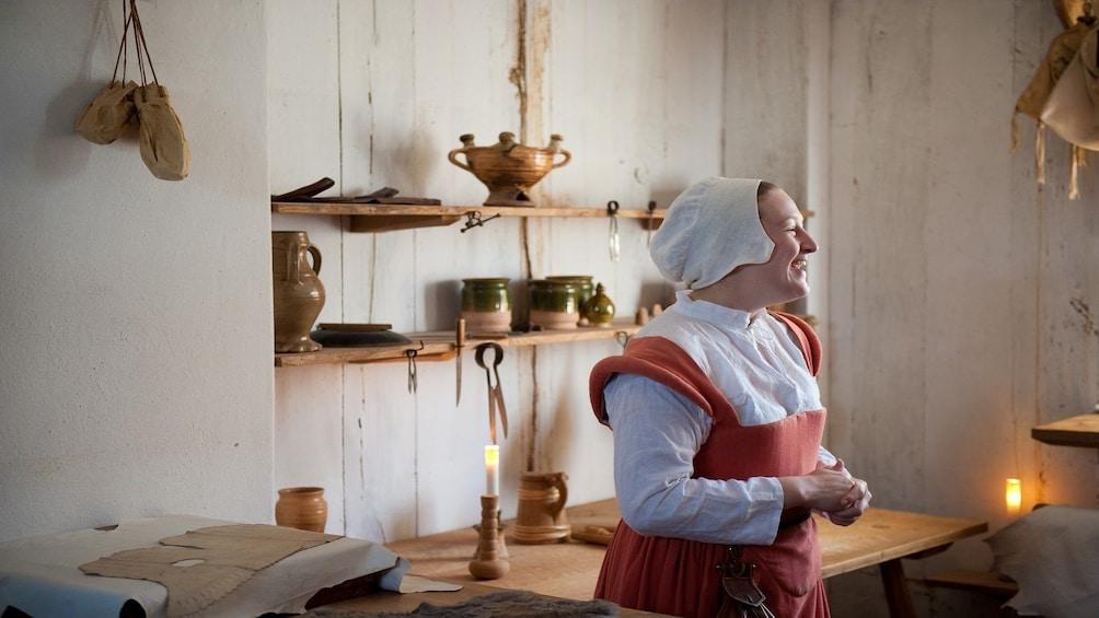 Woman in Stratford-upon-Avon