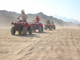 3-Hour Desert Quad Bike Safari from Hurghada