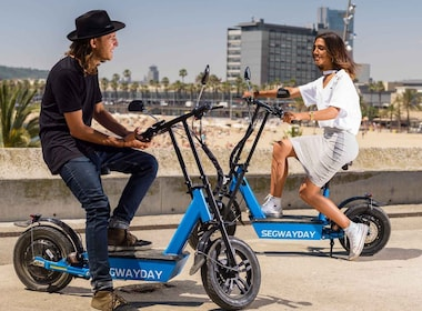Barcelona Beach E-Scooter Tour