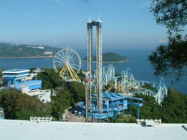 Day view over Hong Kong Ocean Park