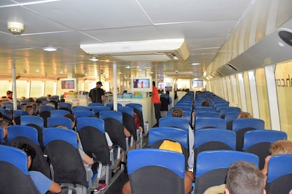 View aboard a Lomprayah High Speed Catamaran