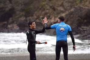 Full-Day Piha and Waitakere Tour with Surf Lesson, Auckland