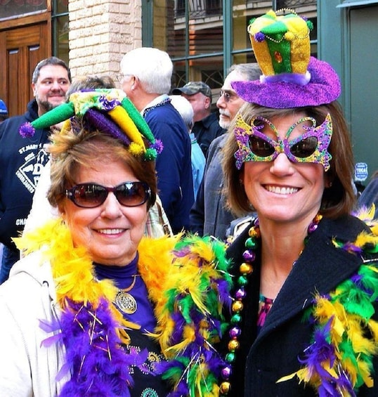 Show item 2 of 10. Drunken Mardi Gras Experience French Quarter Tour