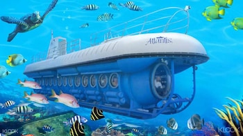 Bali Submarine Tour with Water Palace and Virgin Beach
