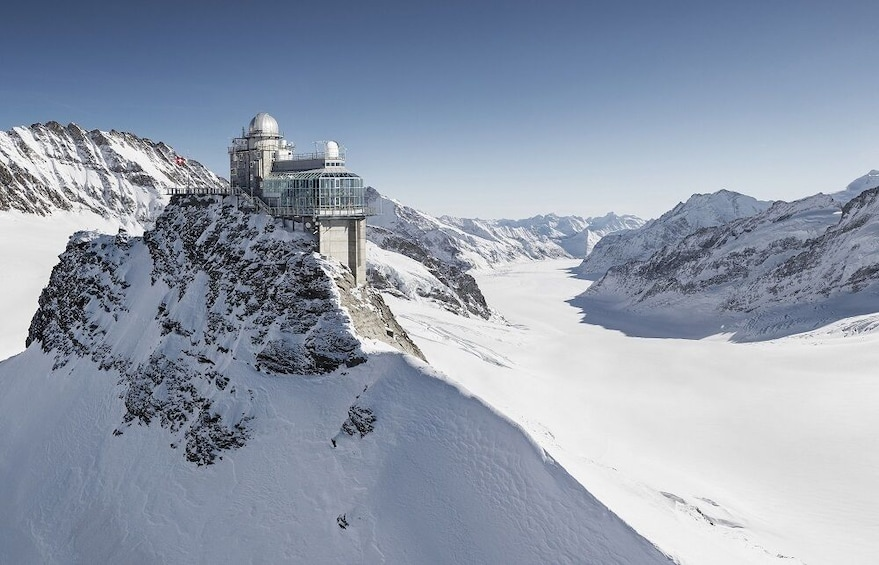 Show item 9 of 9. Jungfraujoch Saddle in Switzerland
