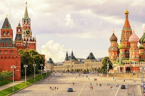 Red Square, Kremlin and St.Basil Cathedral Private Tour