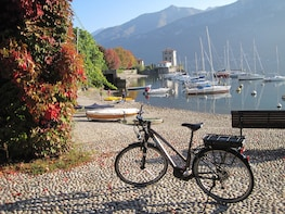 Bellagio E-Bike Tour plus tastings and Villa Melzi