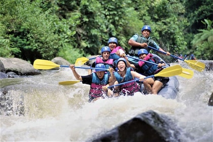 Enjoy The Excited Bali White Water Rafting with Ubud Tour