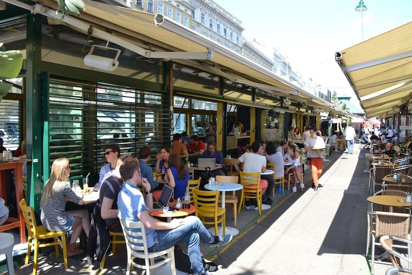 Show item 2 of 4. Outdoor seating at restaurant in Vienna, Austria