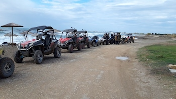 2 Hours Seaside & Off-Road Quad bike Safari Tour in Paphos