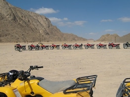 Morning Quad Bike Desert SafariI from Marsa Alam