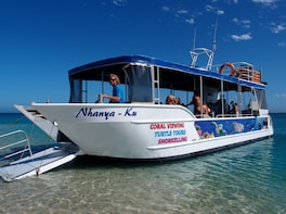 1 Hour Glass Bottom Boat Tour