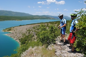 Cycling tour to the spring of the river Cetina
