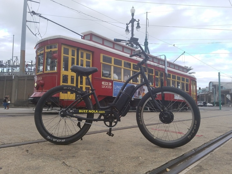 Show item 2 of 3. Creole Orleans Electric Bike Tour