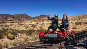 Desert Railbike Ride and Train Ride in Boulder City