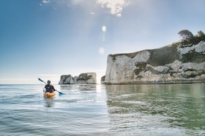 Half Day Old Harry Rocks Kayak Tour