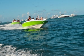 Caribbean Speed Boat with Snorkeling