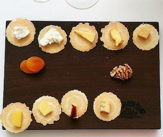 'Cheeses of the World' - Wine Matching Experience