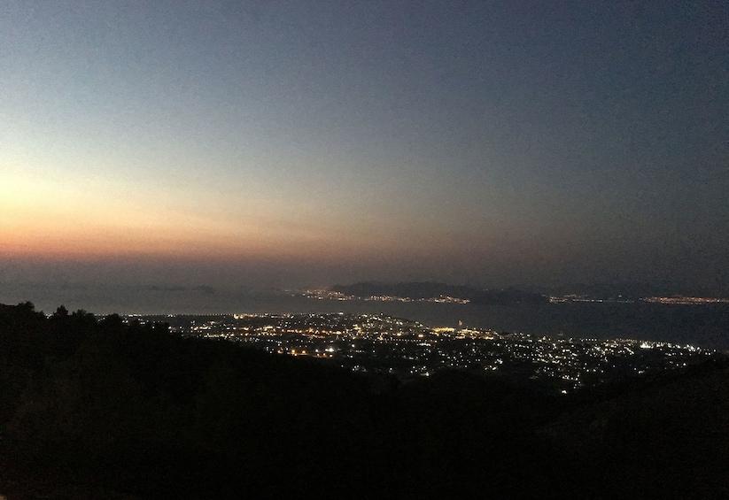 Show item 2 of 6. Sun setting over Kos, Greece
