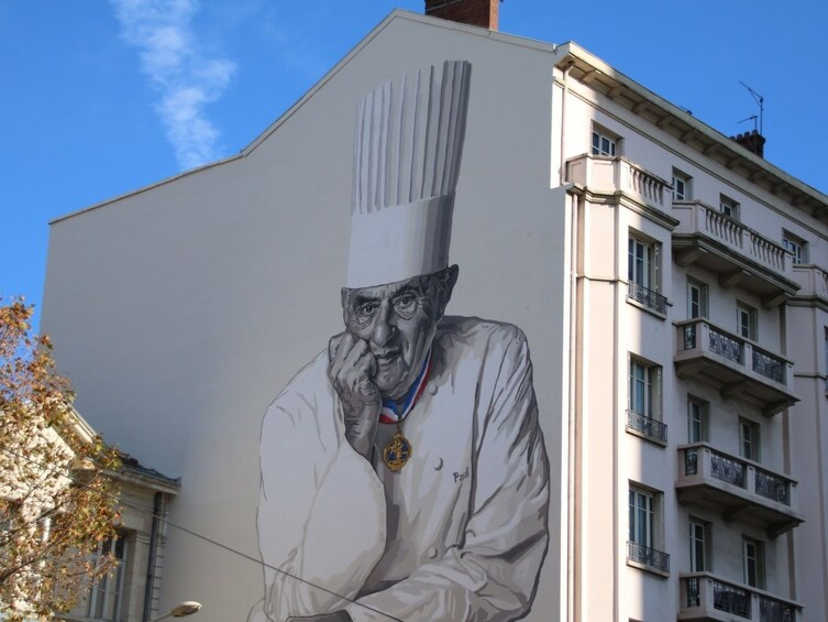 Show item 2 of 4. Fresque Paul Bocuse in Lyon, France