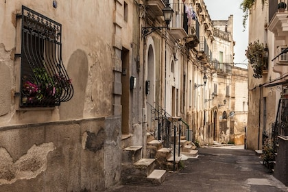 Alley in Matera, Italy