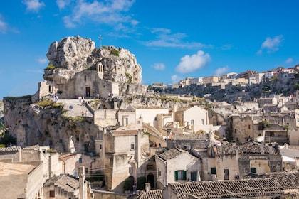 Italian mountain village on a sunny day