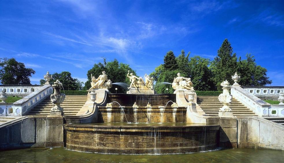 Show item 3 of 10. Cascade Fountain in Cesky Krumlov, Czech Republic