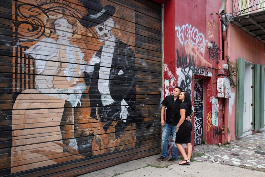 Show item 6 of 6. New Orleans Street Art and Mural Walk ft. Banksy