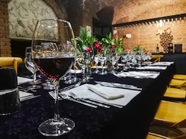 Food and Wine pairing four course dinner at Karnas Vineyards
