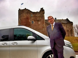 Mary Queen of Scots Private Day Tour with Luxury Chauffeur