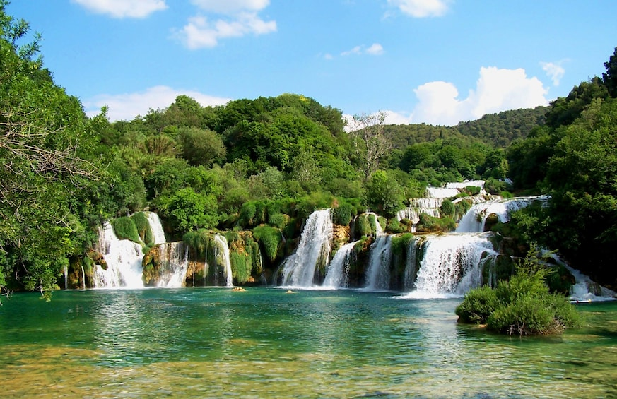 Show item 1 of 5. Serene day view at Krka National Park