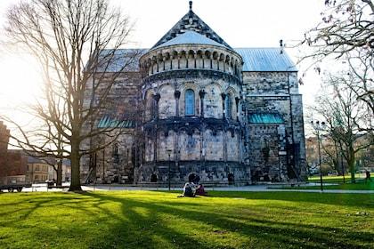 Lund Cathedral in Lund, Sweden