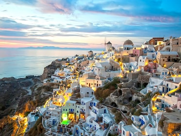 Traditional Santorini Sightseeing Bus Tour with Oia Sunset