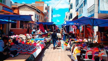 Otavalo Marketplace and Cotacachi Town from Quito