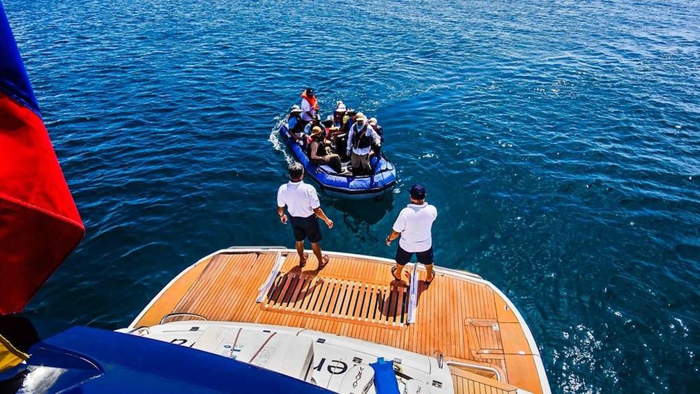 Show item 4 of 5. Galapagos Boat Tour: Santa Fe + South Plazas Islands