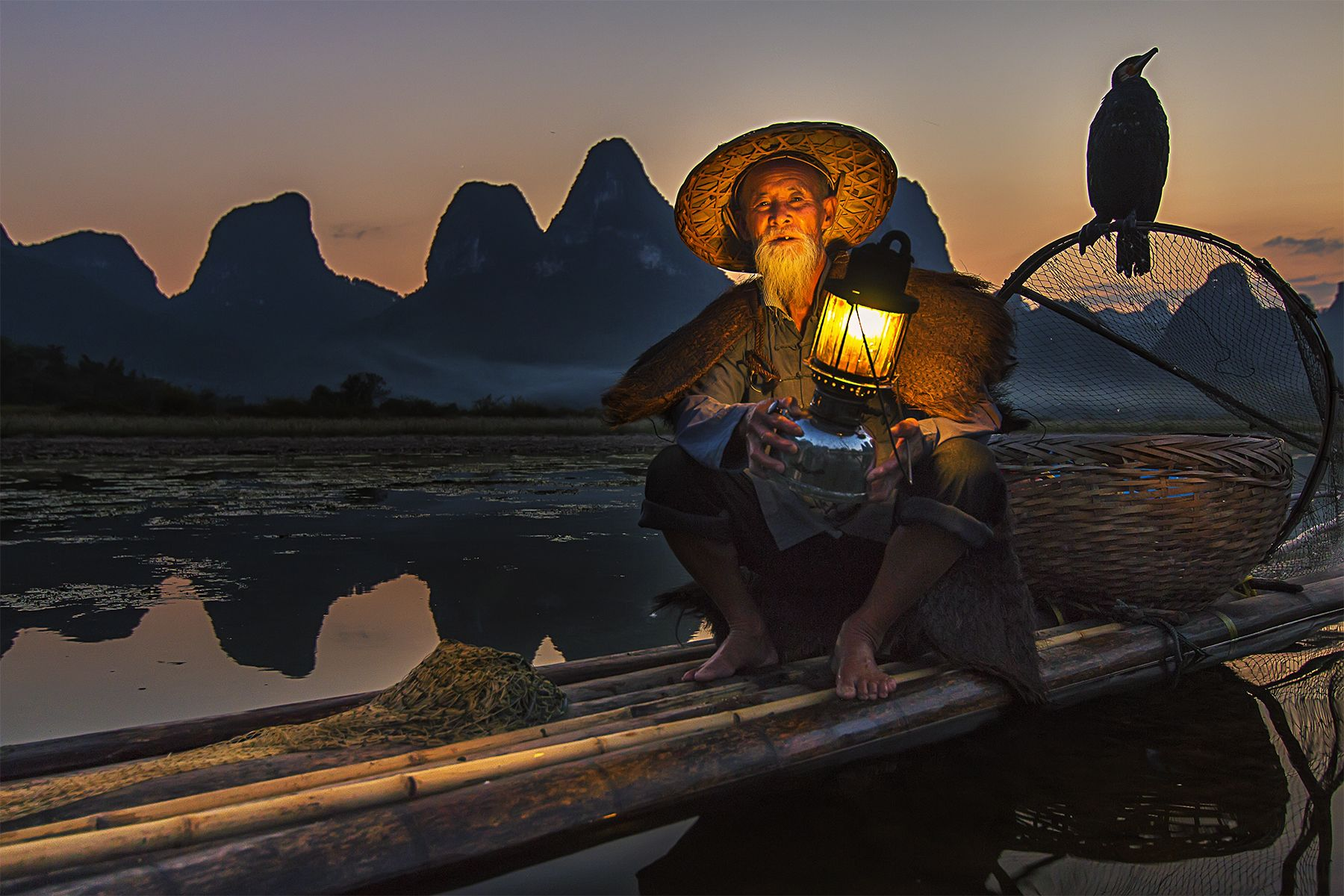 Full / Half-day Xingping photo Sunset tour with Fisherman