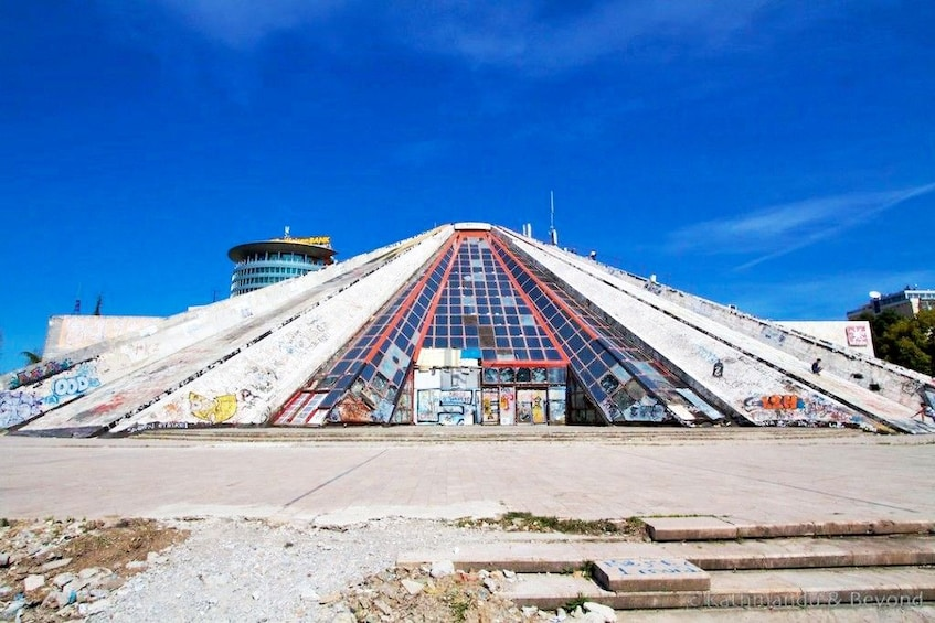 Show item 5 of 6. Pyramid of Tirana