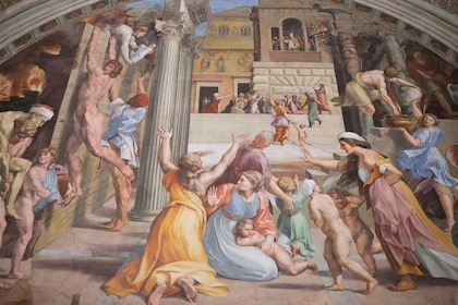 Painting at the Vatican