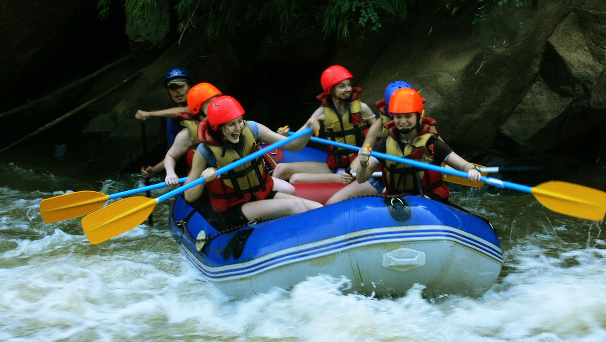 World-class Whitewater Rafting on the Mae Taeng River