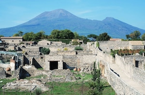 Private tour of Pompeii, Herculaneum, Vesuvius