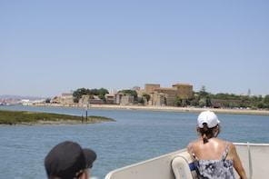 Short boat trip of Algarve's Ria Formosa lagoon from Faro