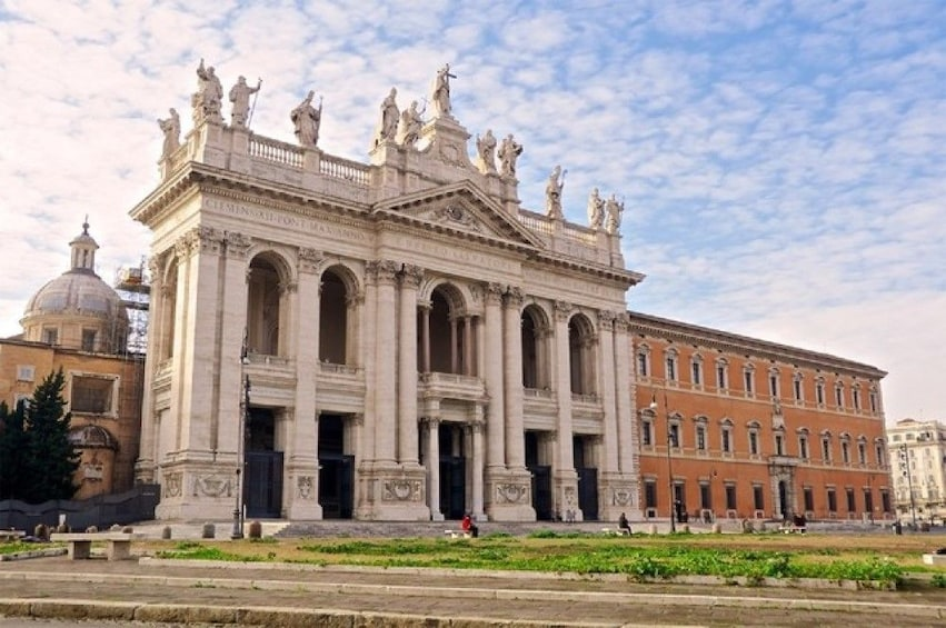 Show item 1 of 10. Saint John Lateran on a cloudy day