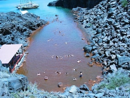Volcanic Islands Cruise- Volcano, Hot Springs & Thirassia